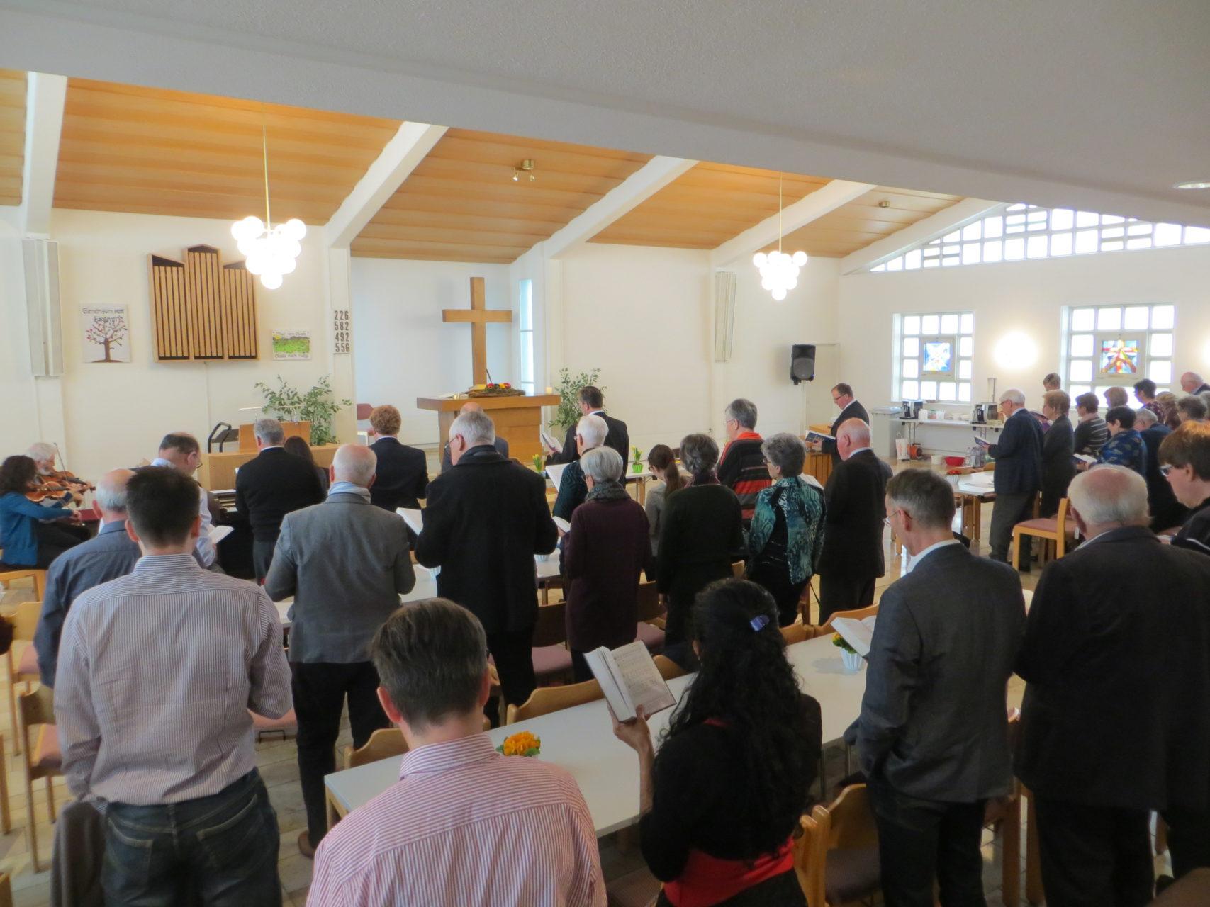 Kurzgottesdienst vor der Mitgliederversammlung