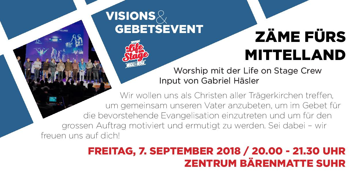 Life on Stage - Visions & Gebetsevent