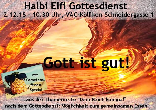 HalbiElfi Gottesdienst (Special)