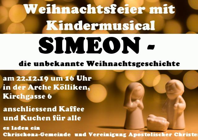 Gemeindeweihnachtsfeier - Kindermusical