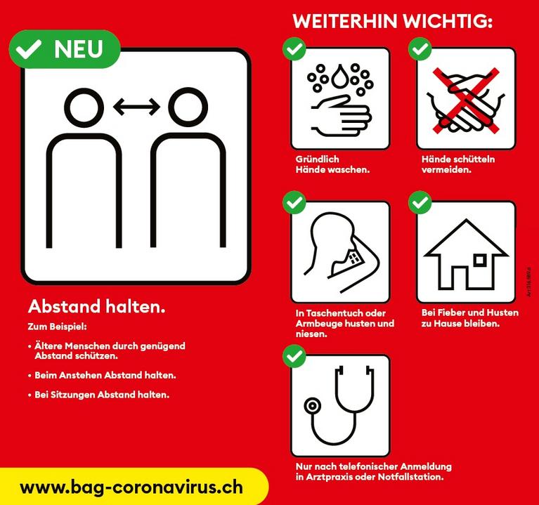 Plakat Coronavirus